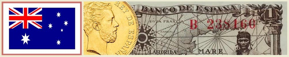 Numismatics of Australia - numismaticayfilatelia.com