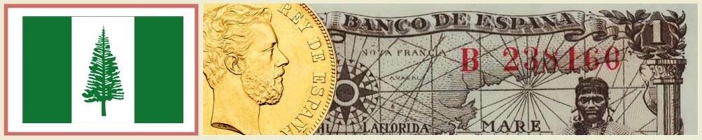 Norfolk Island Numismatics - numismaticayfilatelia.com