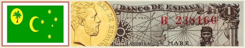 Cocos Islands Numismatics - numismaticayfilatelia.com