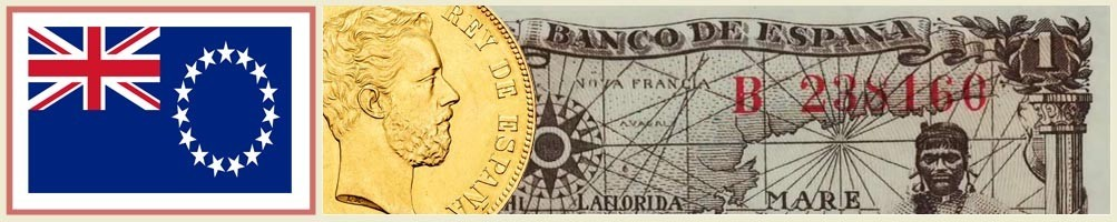 Cook Islands Numismatics - numismaticayfilatelia.com