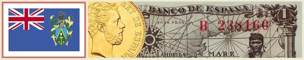 Pitcairn Island Numismatics - numismaticayfilatelia.com