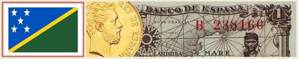 Solomon Islands Numismatics - numismaticayfilatelia.com