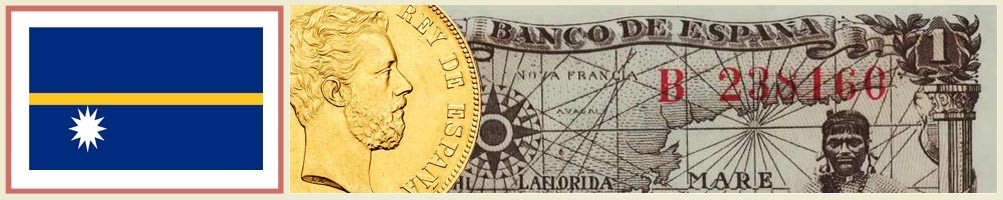 Nauru Numismatics - numismaticayfilatelia.com
