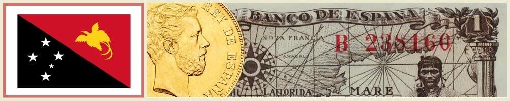 Numismatics of Papua New Guinea - numismaticayfilatelia.com
