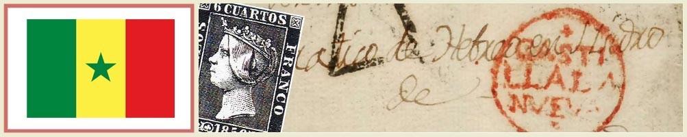 Senegal philately - numismaticayfilatelia.com