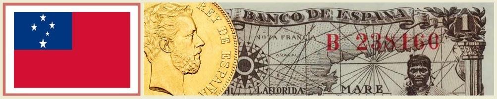 Samoan numismatics - numismaticayfilatelia.com