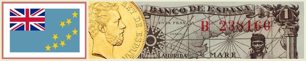 Tuvalu numismatics - numismaticayfilatelia.com