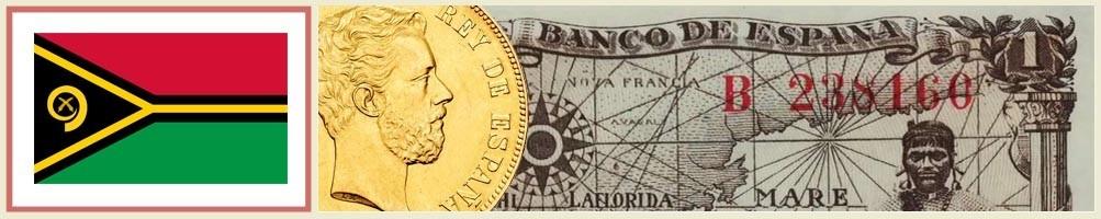 Vanuatu numismatics - numismaticayfilatelia.com