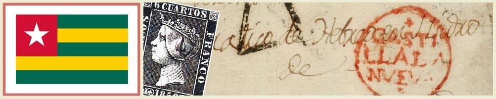 Filatelia de Togo - numismaticayfilatelia