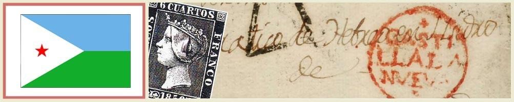 Filatelia de Yibuti - numismaticayfilatelia