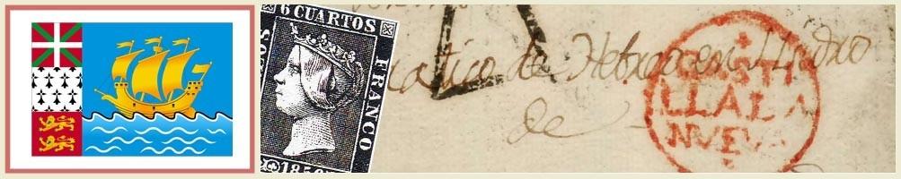 Philately of St. Peter and Miquelon - numismaticayfilatelia.com