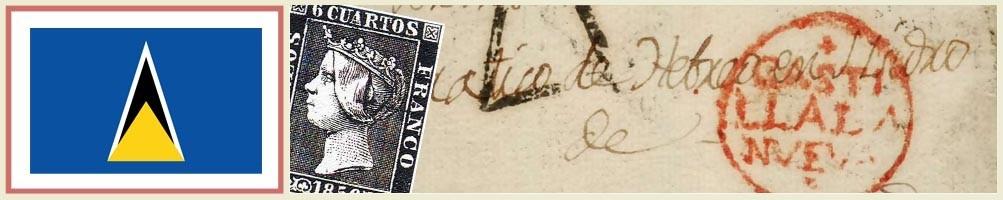 Philately of Saint Lucia - numismaticayfilatelia.com