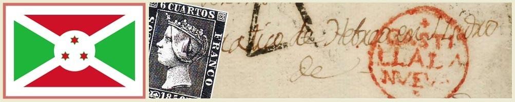 Philately of Burundi - numismaticayfilatelia.com