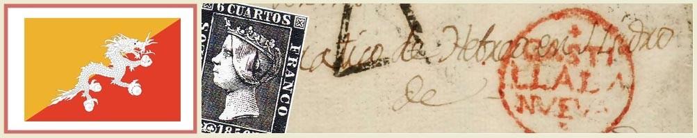 Buthan philately - numismaticayfilatelia.com