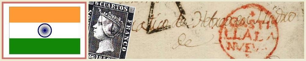 Indian philately - numismaticayfilatelia.com