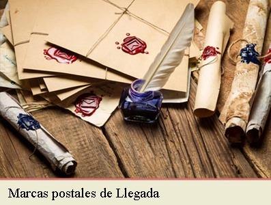 MARCAS POSTALES DE LLEGADA