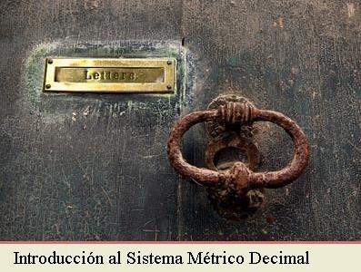 INTRODUCCIÓN AL SISTEMA METRICO DECIMAL