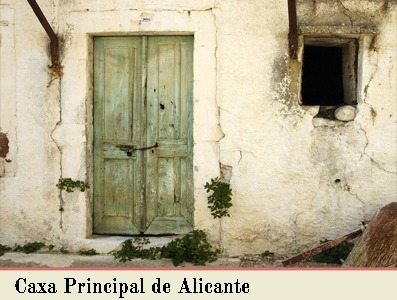 CAXA PRINCIPAL DEL REINO DE ALICANTE