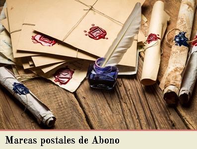 MARCAS POSTALES DE ABONO